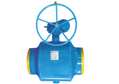 Forged Steel Fully Welded Ball Valve